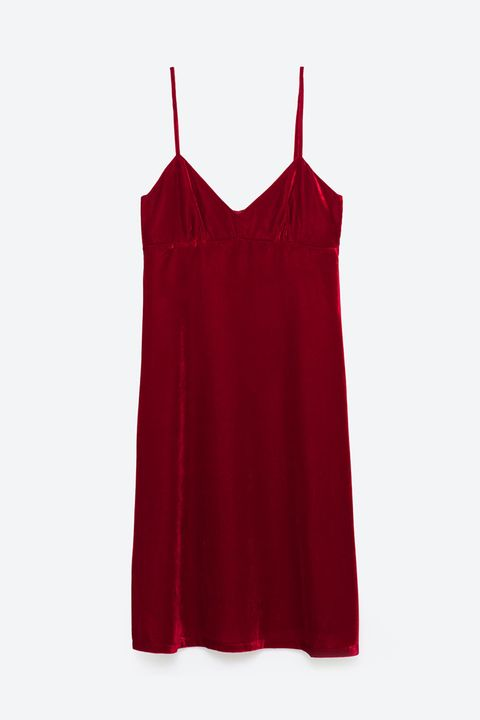 velvet zara slip dress