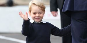 Why Prince George is always wearing shorts