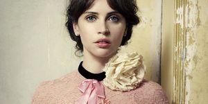 Felicity Jones for Harper's Bazaar