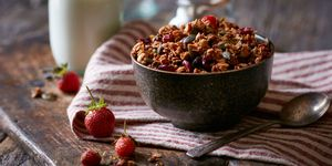 Bowl of granola - health foods