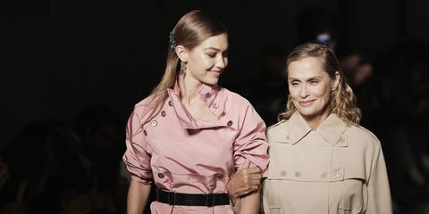 Gigi Hadid and Lauren Hutton