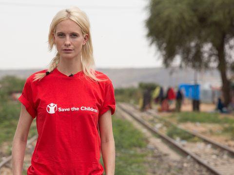 Poppy Delevingne visits Ethiopia for Save the Children