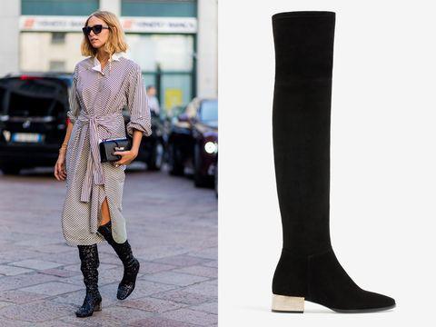 5e1d75eeb8a How to wear knee-high boots