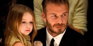 Harper Beckham, David Beckham
