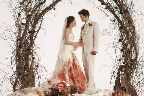 Twilight Wedding Scene