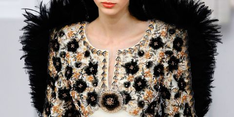 Chanel Couture collection up close