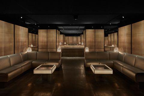 The Armani Prive club in Milan