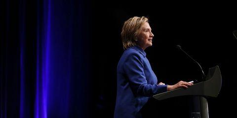 Hillary Clinton first public appearance