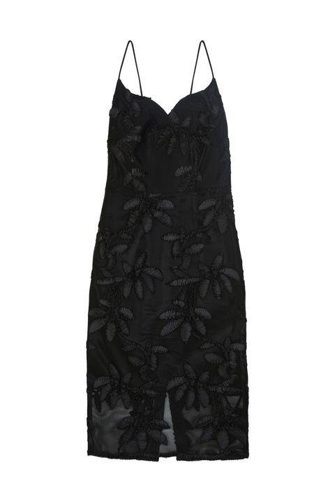 Black, One-piece garment, Fashion design, Vest, Day dress, Sleeveless shirt, Pattern,