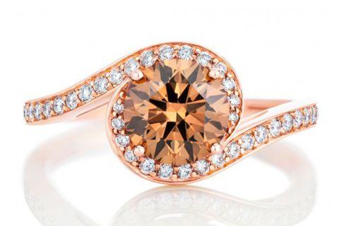Ring, Engagement ring, Jewellery, Diamond, Pre-engagement ring, Fashion accessory, Gemstone, Orange, Yellow, Wedding ring,