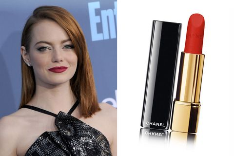 Emma Stone Chanel Lipstick