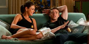 Mila Kunis and Justin Timberlake in 'Friends with Benefits'