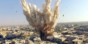 Aleppo War in Syria