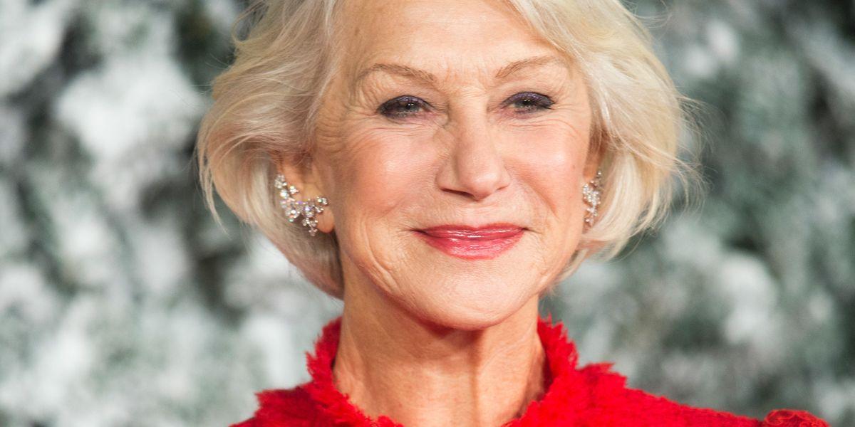 "Helen Mirren on how going make-up free is ""wonderful"""