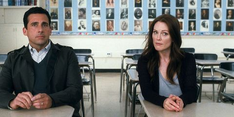 Julianne Moore and Steve Carell in Crazy Stupid Love