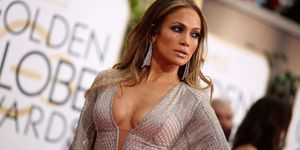 Jennifer Lopez at the 2015 Golden Globes