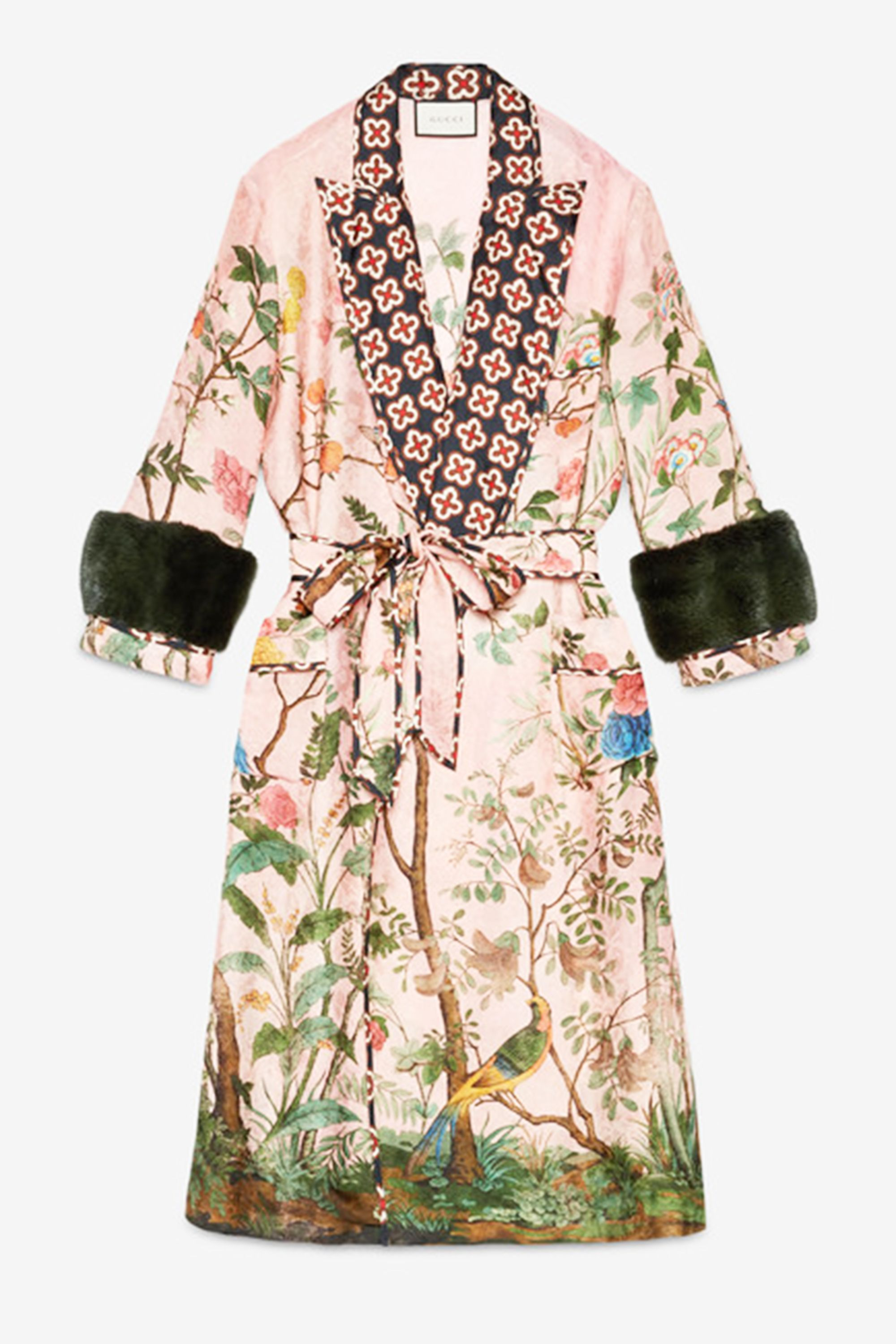 Dress robe and dressing gown fashion trend
