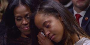 michelle obama and malia obama