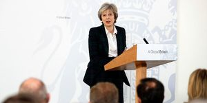 Theresa May delivers Brexit speech