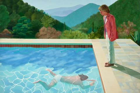 David Hockney Portrait of an Artist (Pool with Two Figures) 1971 Private Collection© David Hockney
