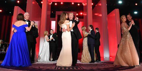 Donald Trump inauguration ball 2017