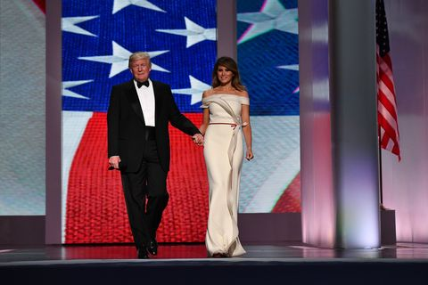 Donald Trump inauguration ball 2017