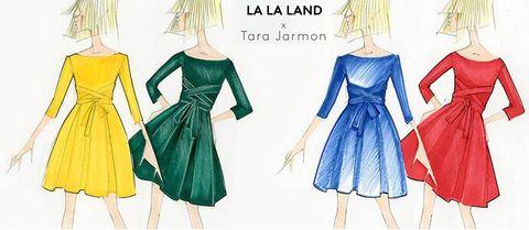 Channel La La Land Style With This Parisian Label S Vibrant Dresses