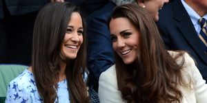 Duchess of Cambridge and Pippa Middleton
