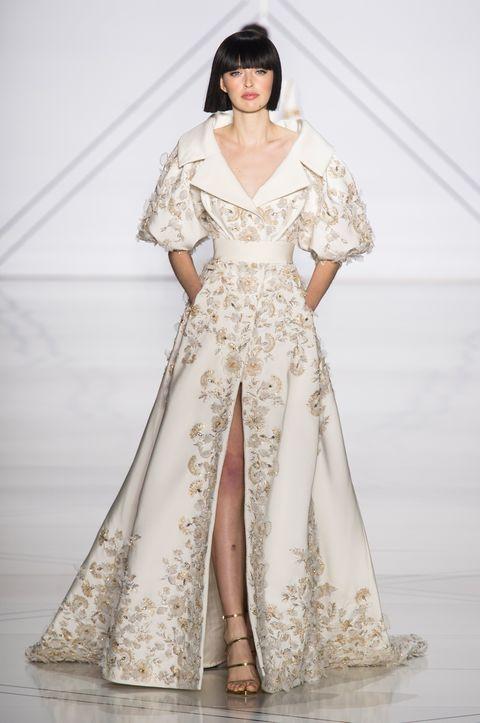 Sleeve, Shoulder, Textile, Dress, Formal wear, Style, Fashion model, Gown, One-piece garment, Fashion,
