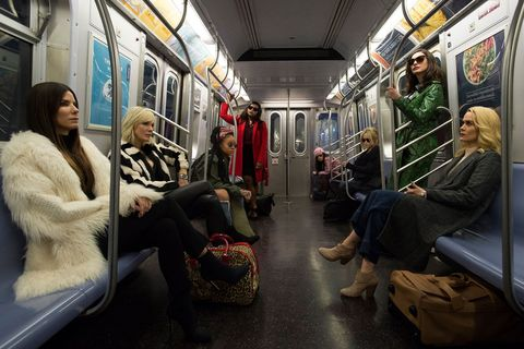 Ocean's 8 first official film still