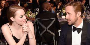 Emma Stone and Ryan Gosling at the 2017 SAG Awards