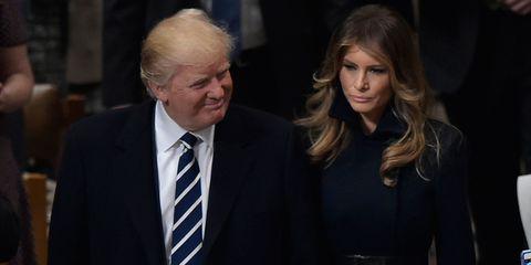 Donald and Melania Trump body language expert