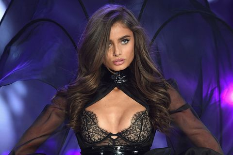Taylor Hill on the Victoria's Secret runway