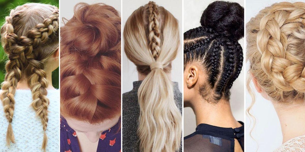 Alternative workout hairstyles