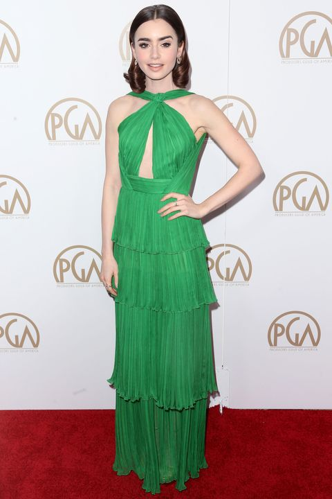 Dress, Green, Shoulder, Textile, Flooring, One-piece garment, Waist, Style, Formal wear, Day dress,