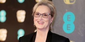Meryl Streep at the BAFTAs 2017