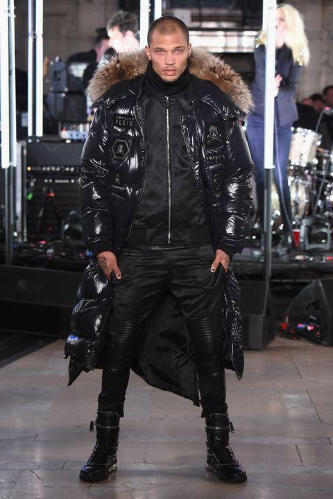 cb0b221c6e Jeremy Meeks – famous mugshot model – walks during New York Fashion Week