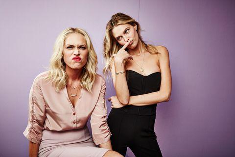 Sara and Erin Foster interview 2017