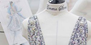 Emma Stone's Chanel BAFTA dress drouser