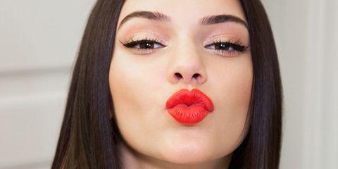 Lip, Hair, Face, Cheek, Eyebrow, Nose, Skin, Red, Beauty, Chin,