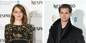 Andrew Garfield and Emma Stone hugged at a BAFTAs pre-party and our emotions are all over the place