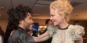 Nicole Kidman,Lenny Kravitz