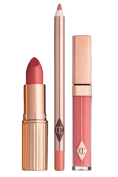 Brown, Peach, Lipstick, Pink, Amber, Magenta, Maroon, Beige, Cosmetics, Cylinder,