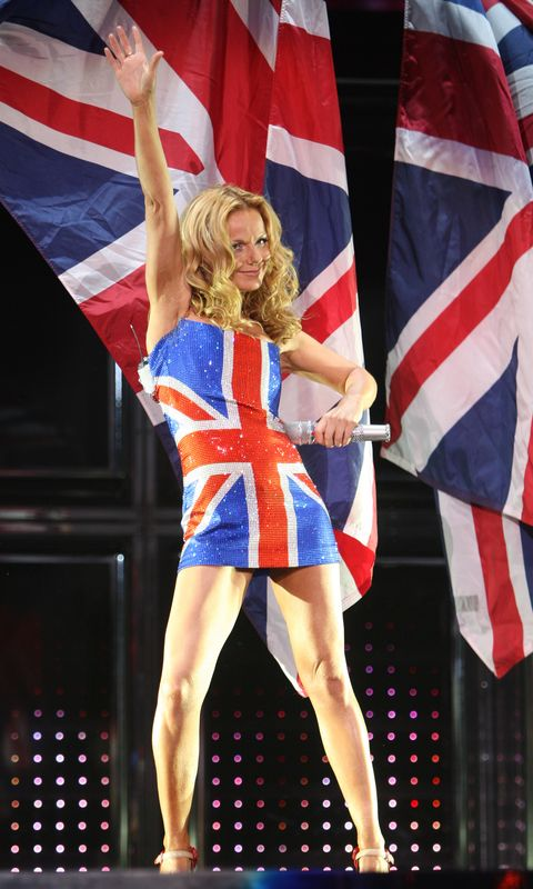 The Story Of Geri Halliwell S Union Jack Dress