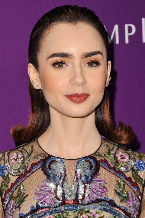 Lily Collins Beauty Muse Header