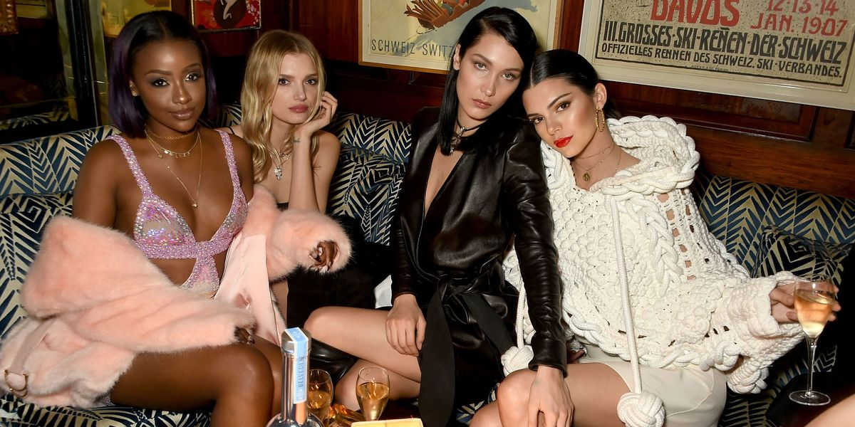 London Fashion Week front rows and parties