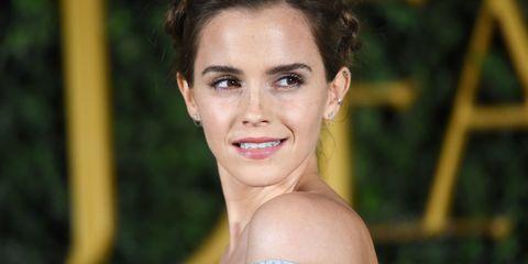 Emma Watson Beauty and the Beast UK premiere dress