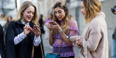 Fashion, Blond, Fun, Photography, Hand, Fashion accessory, Street fashion, Gesture, Style,
