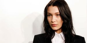 Bella Hadid black hair