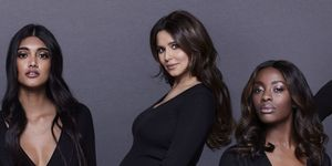 Cheryl's first proper pregnancy photoshoot is here